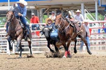 Trell Etbauer winning 2013 Greeley Independence Stampede on Pete trained and sold by Good's Performance Horses LongValley SD